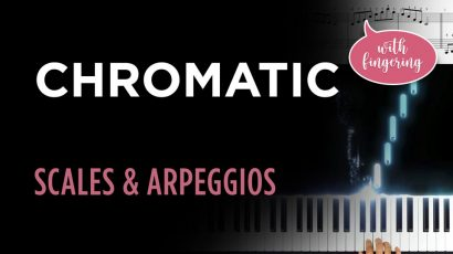 Chromatic Scale & Arpeggio